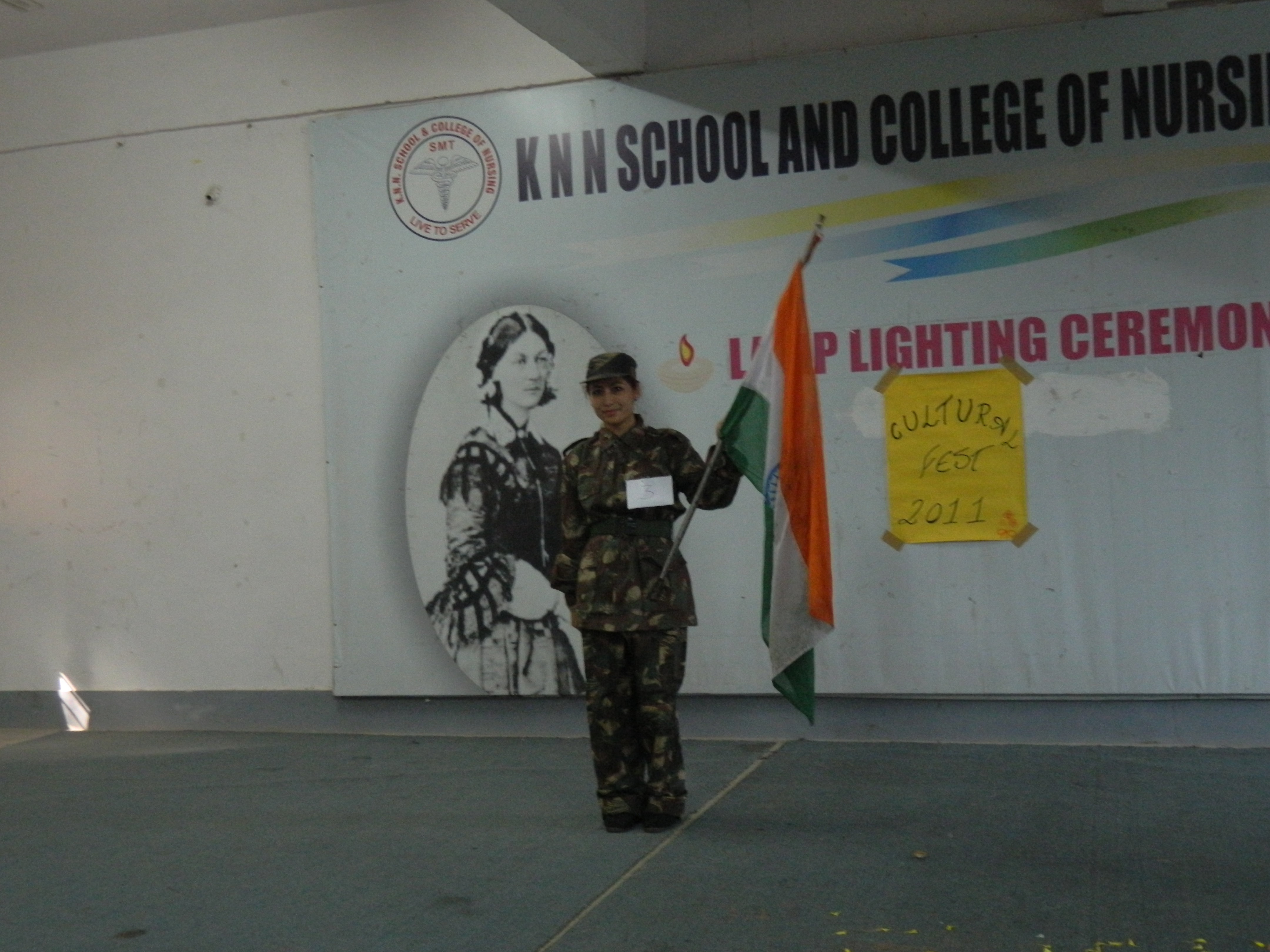 Cultural day at the College