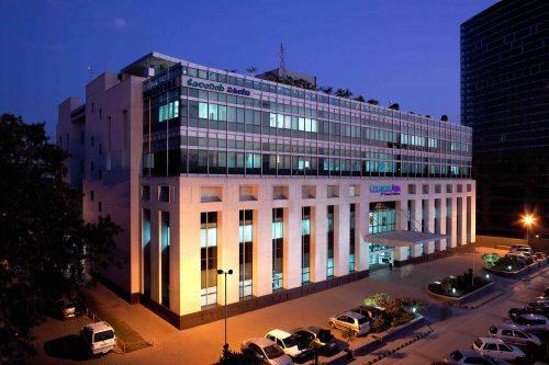 Columbia Asia Hospital Facade
