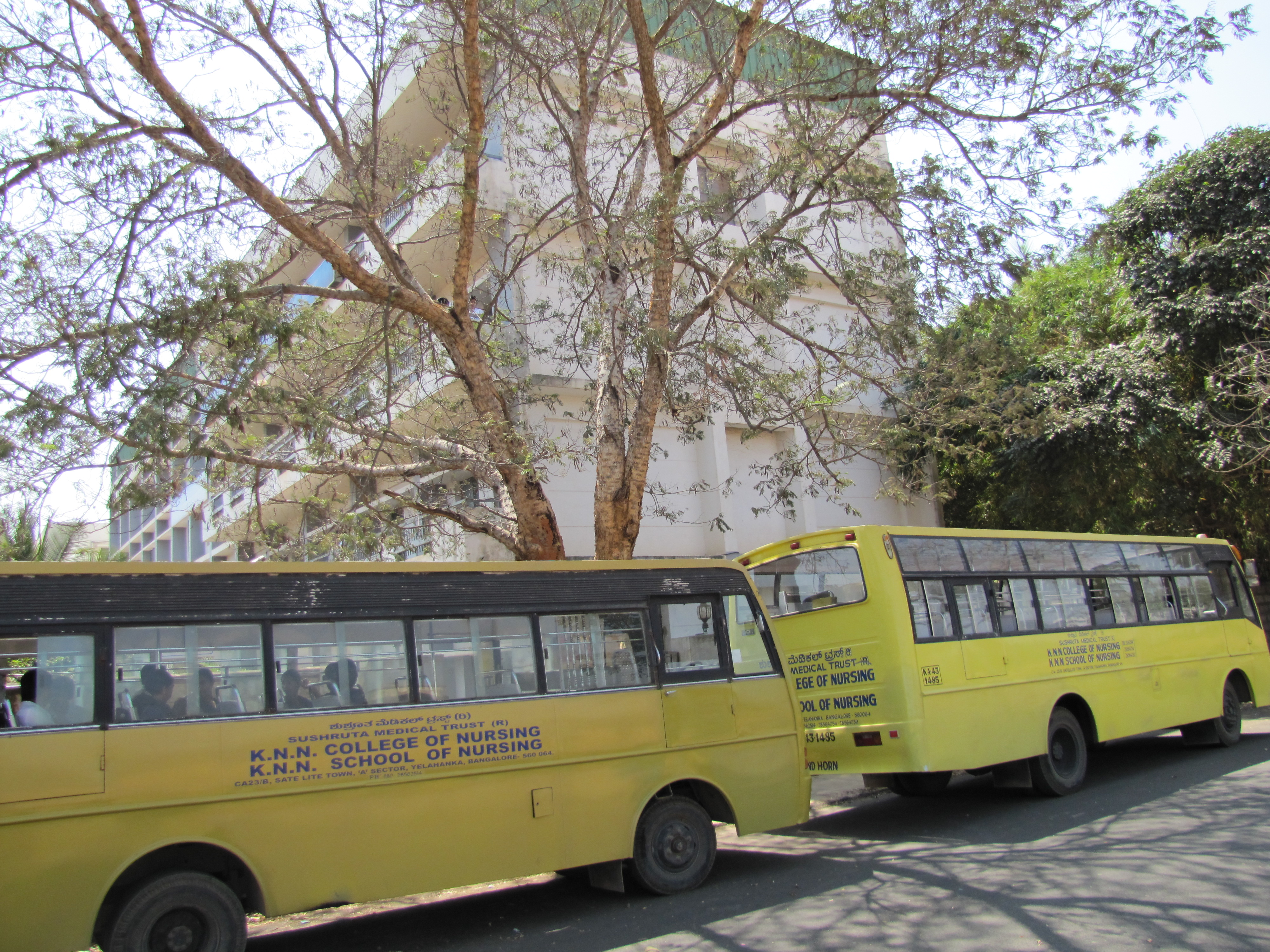 KNN College Buses